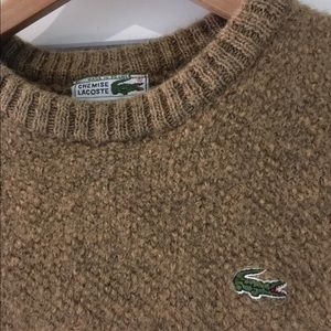 Vintage Lacoste Wool Sweater