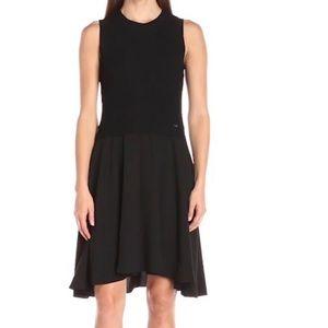 Ivanka Trump Dresses & Skirts - Sleeveless Sweater Contrast Dress