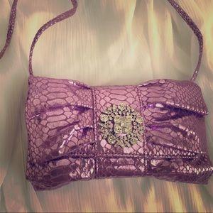 Handbags - Evening enchantment clutch NWOT