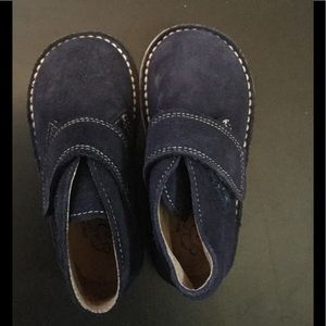 Baby CZ Other - Baby CZ suede boot in navy, never worn