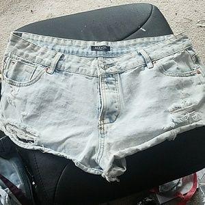 Acevog Pants - Mid rise shorts