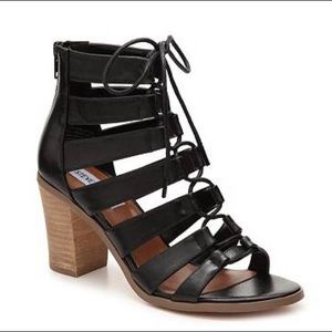 Steve Madden Shoes - Steve Madden Dayyna Leather High Heel Sandals 7.5