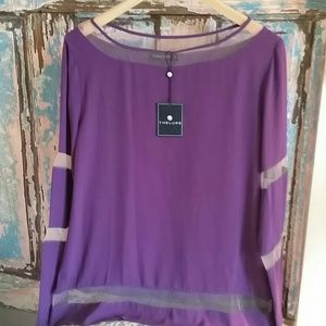 Grape blouse from rio