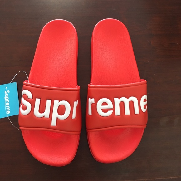 79142afe4 Supreme Shoes | Flip Flops Sandals | Poshmark