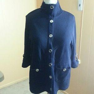 Liz & Me Sports Jackets & Blazers - Liz & Me Sports Trench Jacket