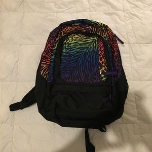 Jansport Handbags - Rainbow animal printed JanSport backpack