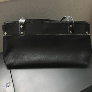 Black Kate Spade leather purse