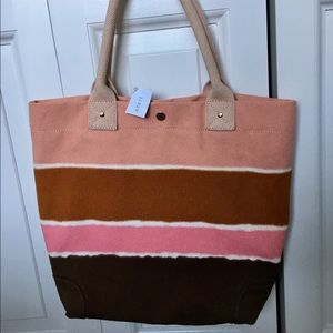 💥 FINAL PRICE 💥 J. Crew Summer 🌻 canvas tote