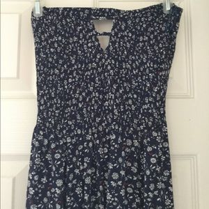 En Creme Dresses - Navy blue ankle dress URBAN OUTFITTERS