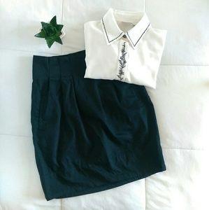 Mossimo Dresses & Skirts - Black Career Pencil Skirt