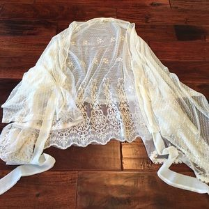 Areve Other - A'reve Sz S Shawl Overlay