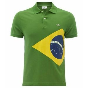 Lacoste Other - 🆕Brazil Flag Polo
