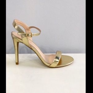 ShuShop Shoes - Gold Heels