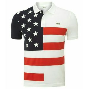 Lacoste Other - 🆕USA Flag Polo