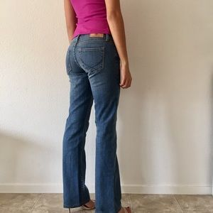 PINK Victoria's Secret Denim - PINK Victoria's Secret Flare Jeans