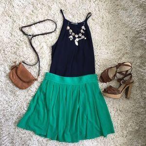 Love Riche Dresses & Skirts - Flowy Green Skirt