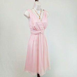 Donna Morgan Dresses & Skirts - DM Donna Morgan pink silk dress