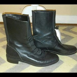 Laura Ashley Shoes - Laura Ashley Leather Vintage Inspired Boots 6.5
