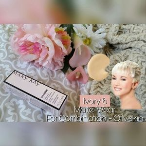 Mary Kay Ivory 6 Matte Liquid Foundation