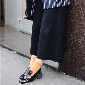 Who What Wear Pants - Who What Wear Black Cropped Gaucho Pant