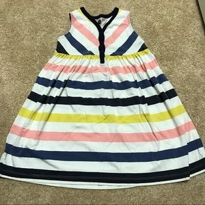 Tea Collection Other - Tea collection jersey striped sleeveless dress SZ4
