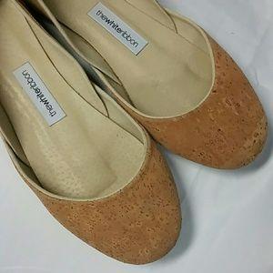 ❤️SALE❤️Suede cork ballet flats. Size 39