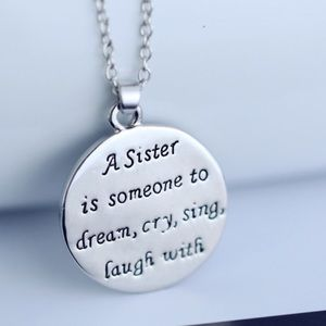 Jewelry - Sister Two sided necklace and pendant