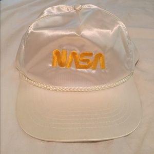 Vintage NWOT NASA SnapBack 70s Hat