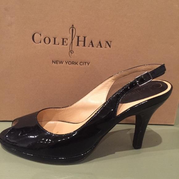 80e83047486e3 Cole Haan Shoes   Air Carma Peep Toe Slingback   Poshmark