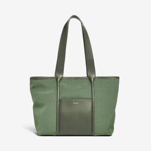 Hunter Green Tote Bag