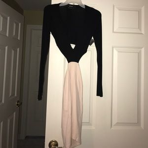 Nasty Gal Cut Out Dress