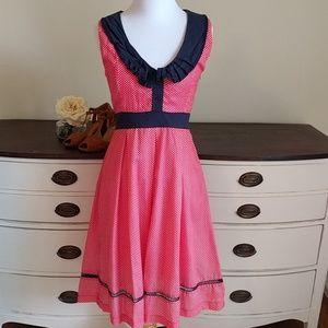 ModCloth Dresses & Skirts - Just Reduced. vintage polka dot dress