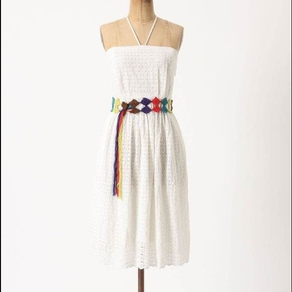 Anthropologie Dresses & Skirts - Anthropologie HD in Paris Blanched Eyelet Dress