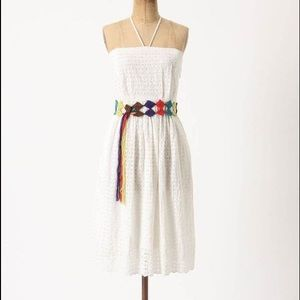 Anthropologie HD in Paris Blanched Eyelet Dress