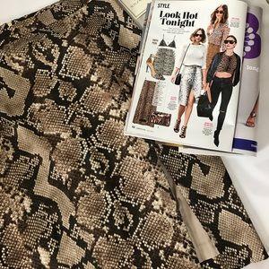 Altuzarra For Target Dresses & Skirts - Exotic Snakeskin Print Pencil Skirt