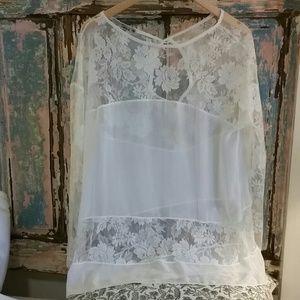 Delicate romantic blouse