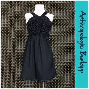 "NWTs Anthro ""Swirled Rosette Dress"" by Burlapp"
