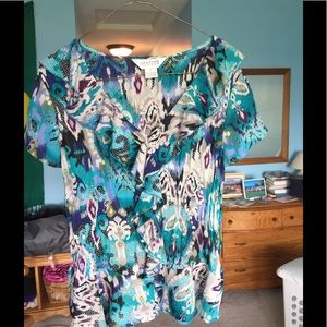 Allison Taylor Tops - Very nice light weight top for summer! Size L