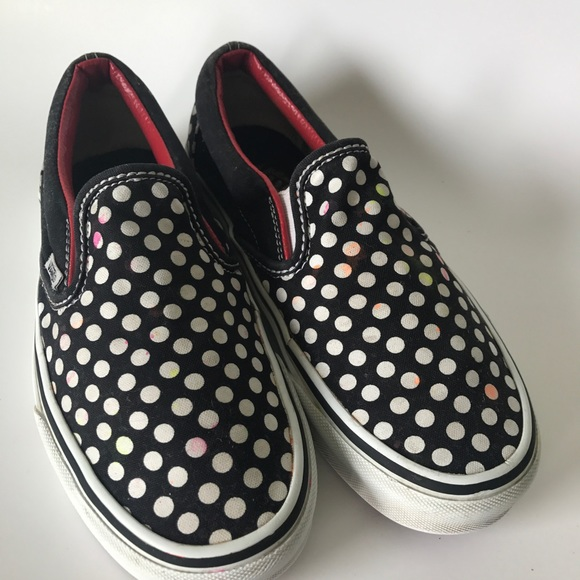 vans slip on shoes size 8