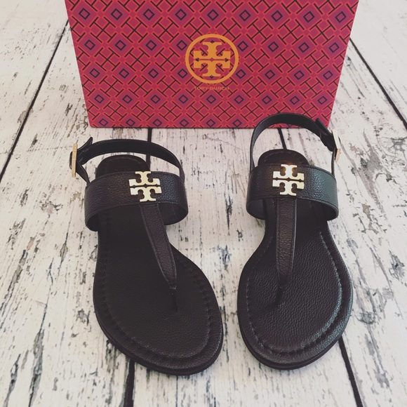 b3a9bfd3a7c46f ☀️SUMMER SALE Tory Burch Laura Flat Sandals