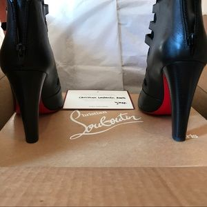 429943f584f3 Christian Louboutin Shoes - Christian Louboutin Attrroupee Buckled Boots