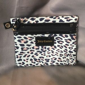 Juicy Cheetah Couture Makeup Pouch