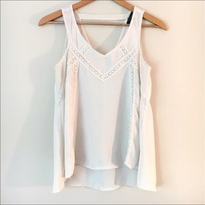 Ivory / Off-White Tank Top