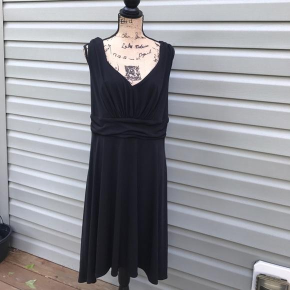 Jaclyn Smith Dresses Nwt For Kmart Black Dress 1x Poshmark