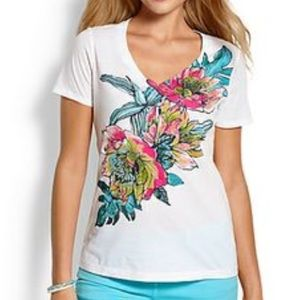 Tommy Bahama Tops - Montego Bay Floral Tee