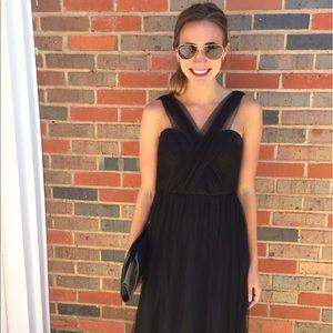 6eda2bb79a0a Dresses & Skirts - black convertible strapless chiffon evening gown