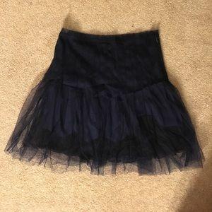 Rodarte Dresses & Skirts - Rodarte for Target tulle overlay navy skirt