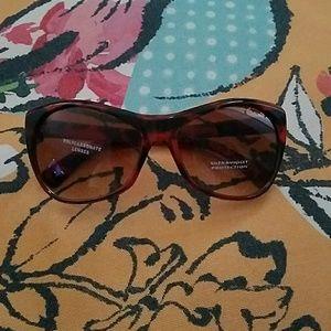 Sunny day oversized cat eye sunglasses