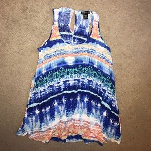 TIMING Tops - Tunic Tank / Swim cover up