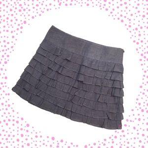 Flirty, fun, ruffled skirt